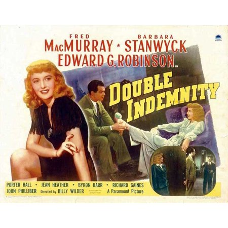Double Indemnity (1944) 11x14 Movie