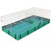 "Midwest Guinea Habitat Plus Guinea Pig Cage, 47"" x 24"" x 14"", Teal"