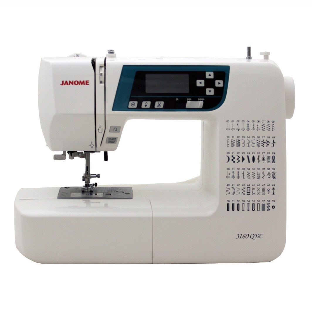 Janome 3160QDC-B Sewing and Quilting Machine with Bonus Quilt Kit!