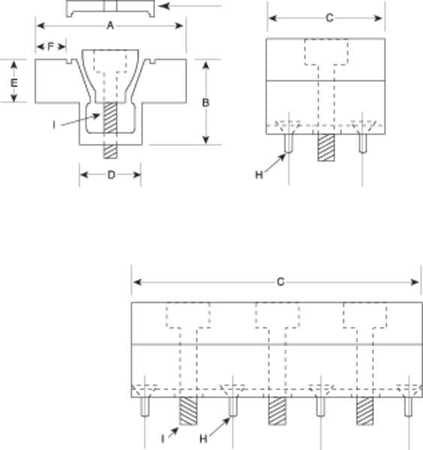 MITEE-BITE PRODUCTS INC 25-120 Raised Double Stop,