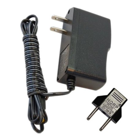Advanced Technology Video - HQRP 9V AC Adapter for AD 48-0901000DU AD35-0904 ADB-0900500 383-0912-110 AM-091200 ADVANCED TECHNOLOGY VIDEO Power Supply Cord + Euro Plug Adapter