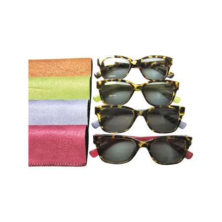 Women's Dramatic Tortoise Shell Sunreaders - UVA/UVB Protection Outdoor Reading (Sell Sunglasses)