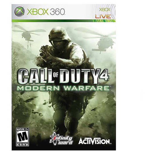 Call Of Duty 4 (Xbox 360) - Pre-Owned Activision