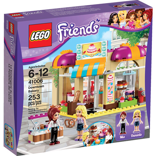 LEGO Friends Downtown Bakery - Walmart.com