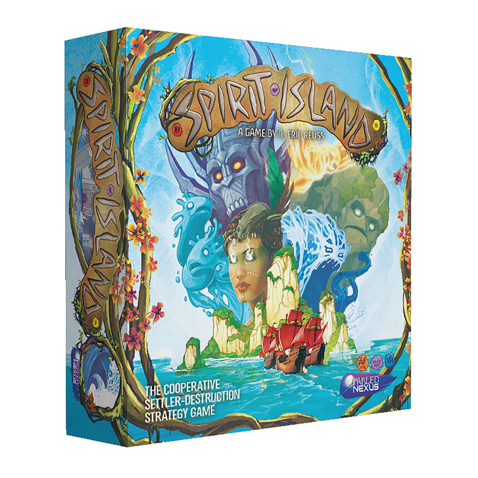 Greater Than Games Spirit Island Board Game by Greater Than Games