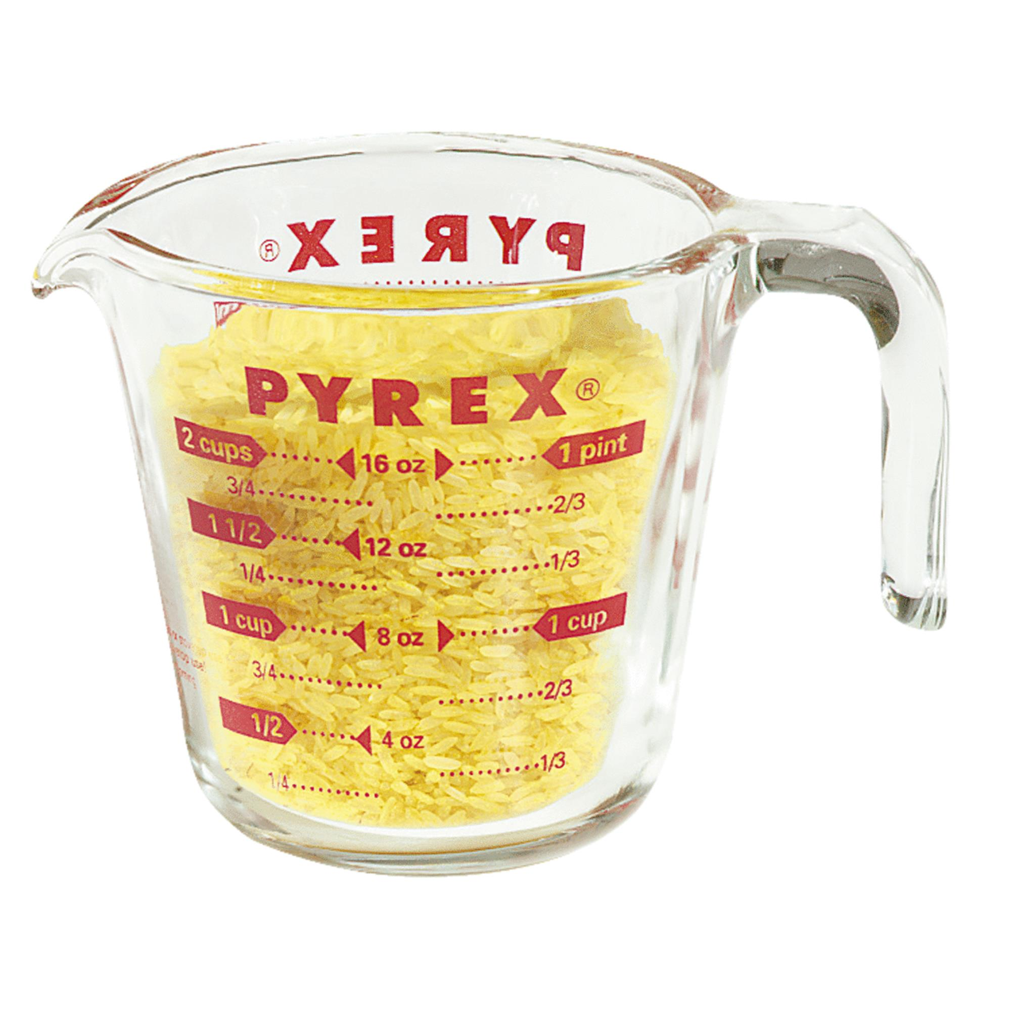 Pyrex Pyrex Prepware 2 Cup Measuring Cup with Red Graphics