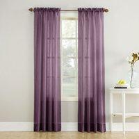 No. 918 Jillian Crushed Voile Sheer Rod Pocket Curtain Panel