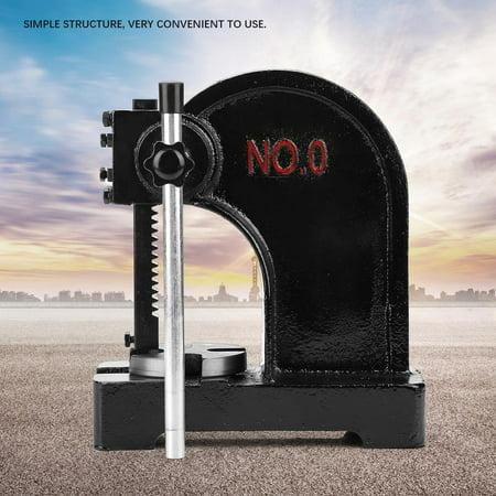 Yosoo Metal Arbor Press Tool 0.5T Manual Desktop Hand Punche Press Machine
