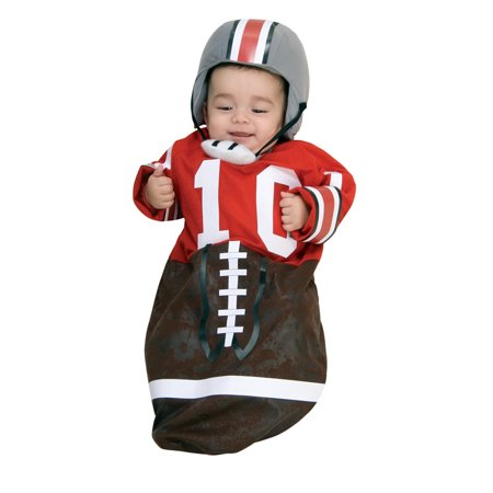 Football Player Halloween Costume Guys (Infant size Football Player Bunting Costume - Game Day - 3 to 9)