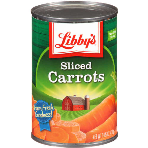 Libby's® Sliced Carrots 14.5 oz. Can