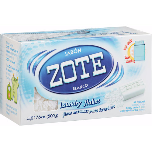 Zote Laundry Soap Flakes, 17.6 oz