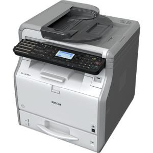 Ricoh SP 3610SF LED Multifunction Printer - Monochrome - Plain Paper Print - Desktop - Copier/Fax/Printer/Scanner - 31 ppm Mono Print - 1200 x 1200 dpi Print - 31 cpm Mono Copy - 1 x Input Tray 2