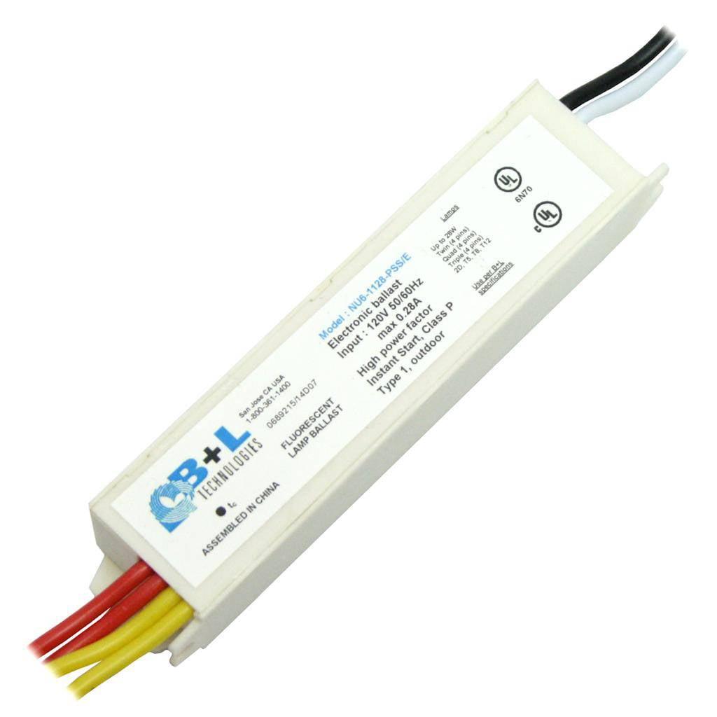 B/&L Technologies 61127 NU6-1128-NT Compact Fluorescent Ballast