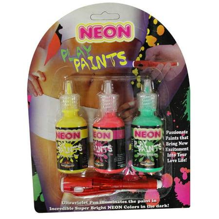 Neon Body Play Paints - 3 - Uv Neon Body Paint