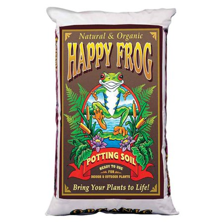FoxFarm Happy Frog Nutrient Rich Rapid Growth Potting Soil, 2 Cu Feet | FX14081 ()
