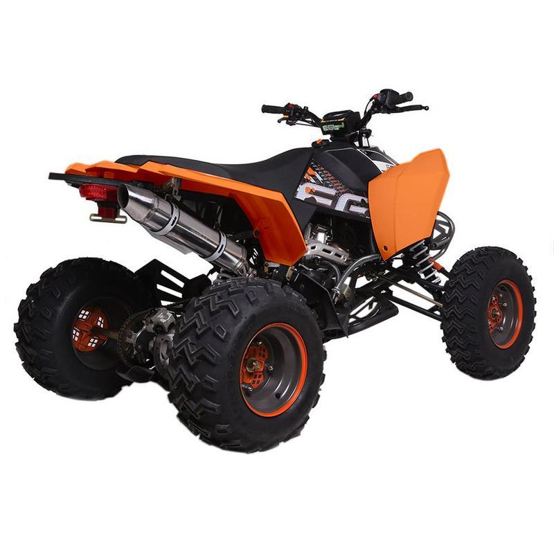 T4B MADMAX ADULT ATV 250cc Dirt Quad Recreational Outdoors, Off-Road, All Terrain, 4 stroke, single-cylinder, air-cooled - Black - image 6 de 7
