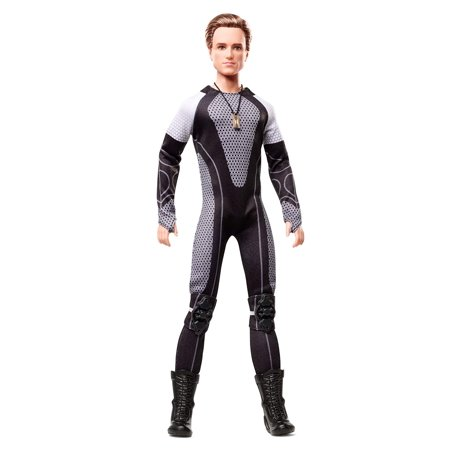 Barbie Collector The Hunger Games: Catching Fire Peeta Mellark Doll - Barbie And The Halloween Games