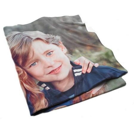 60X80 Full Image Fleece Photo Blanket