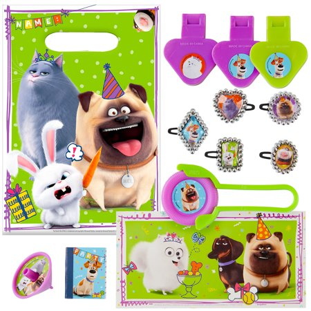 Party City Secret Life of Pets 2 Party Favors for 8 Guests