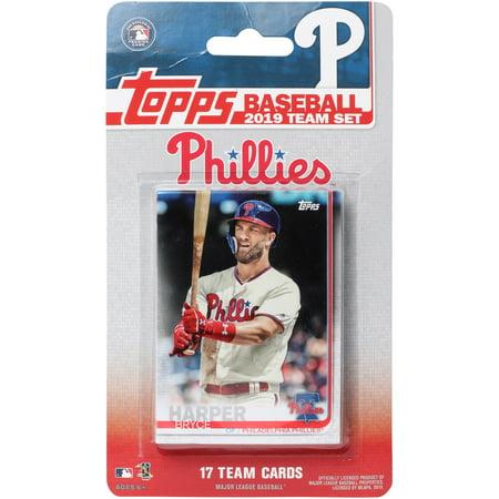 Phillies Mlb Trading Card - Philadelphia Phillies 2019 Team Card Set - No Size