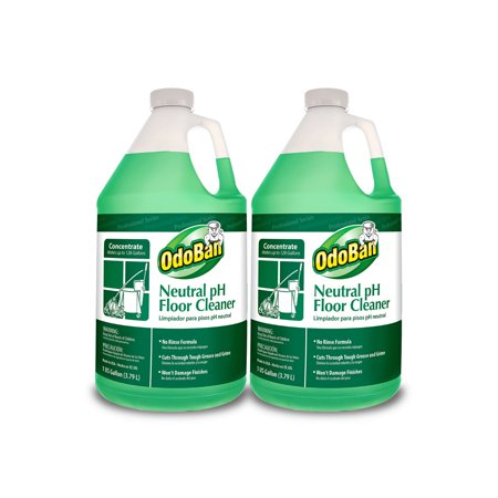 2 Neutral Floor Cleaner (Branded OdoBan Earth Choice Neutral pH Floor Cleaner (128 oz., 2 ct.) Pack of 1 [Qty Discount / wholesale)