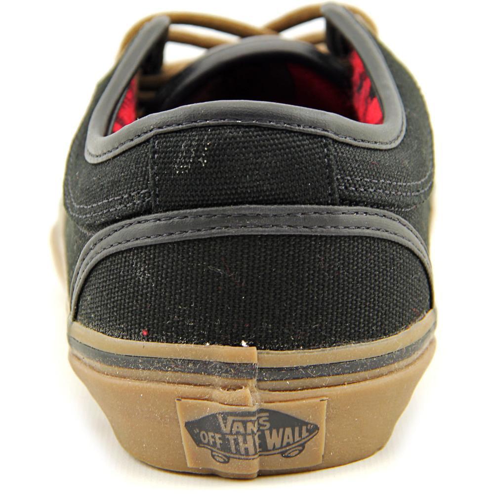 a24321085471 Vans - Vans Chukka Low Mens Skateboarding Shoes Black  Gum  Flannel -  Walmart.com