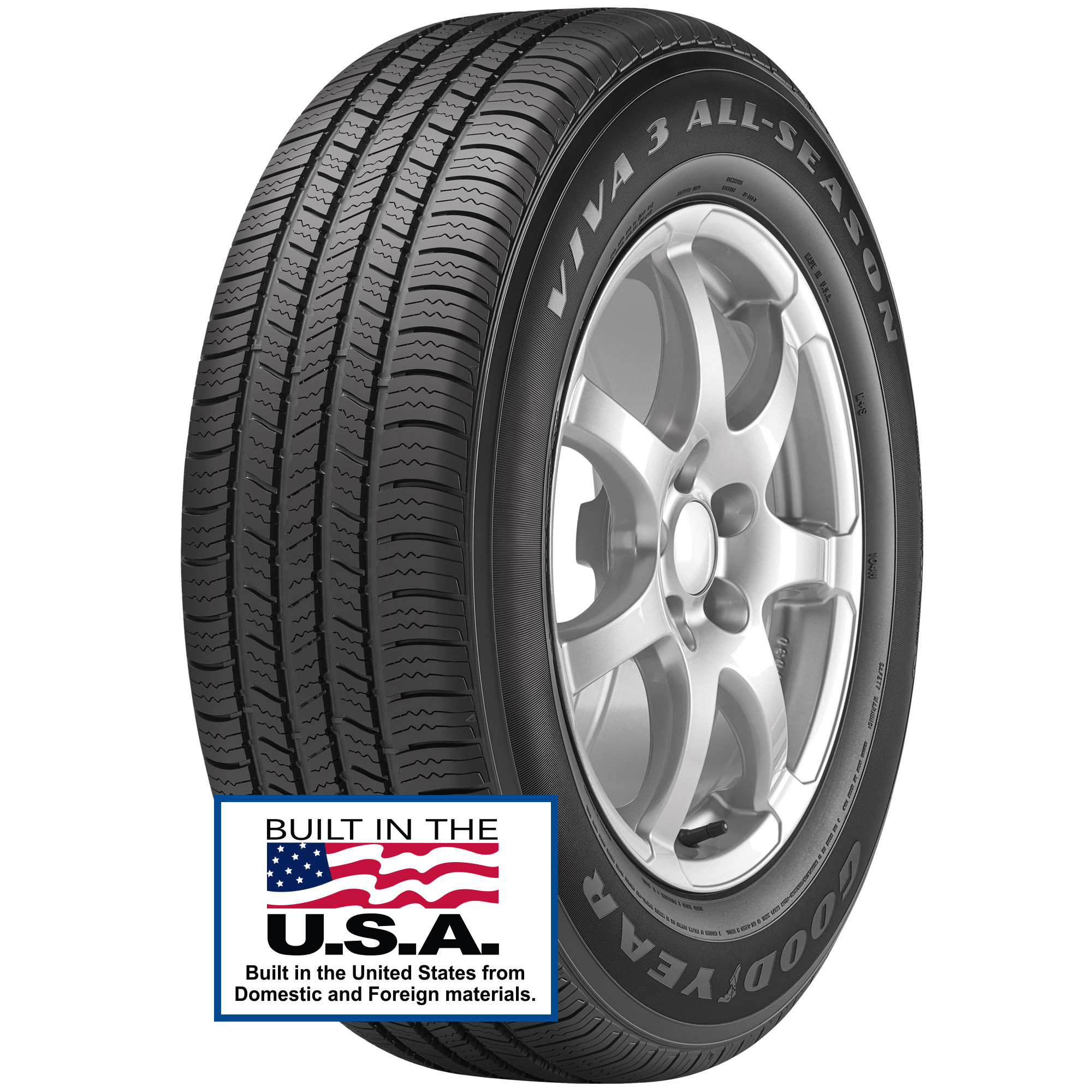 Goodyear Viva 3 All-Season Tire 215/65R17 99T