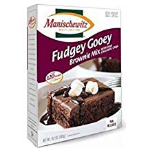 Manischewitz Fudgey Gooey Brownie Mix With Real Chocolate Chips Kosher For Passover 14 oz. Pack of 1.](Halloween Brownies With Oreos)
