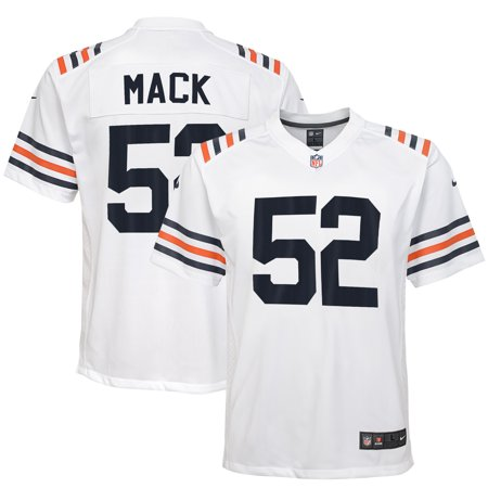 pretty nice 0327b 571c0 Khalil Mack Chicago Bears Nike Youth 2019 Alternate Classic Game Jersey -  White