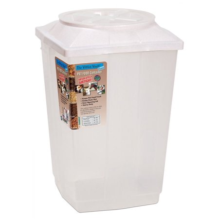 Vittles Vault II Airtight Pet Food Container Holds 30+ lbs - 13.5L x 13.5W x 19.5H - Pack of 2
