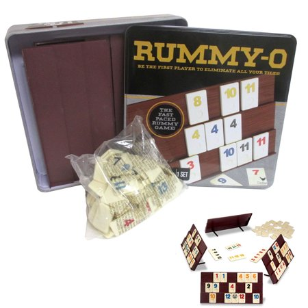 Deluxe Rummy-O Cardinal Classic Tile Number Game Rummikub Family Night Fun Gift](Game Night Theme Ideas)