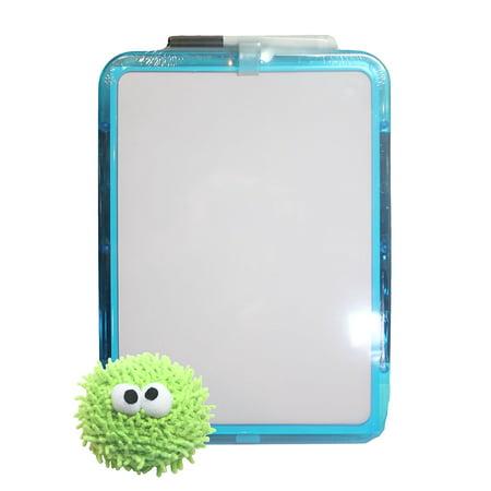Dry Erase Board with Marker and Adorable Eraser - Dry Erase Eraser
