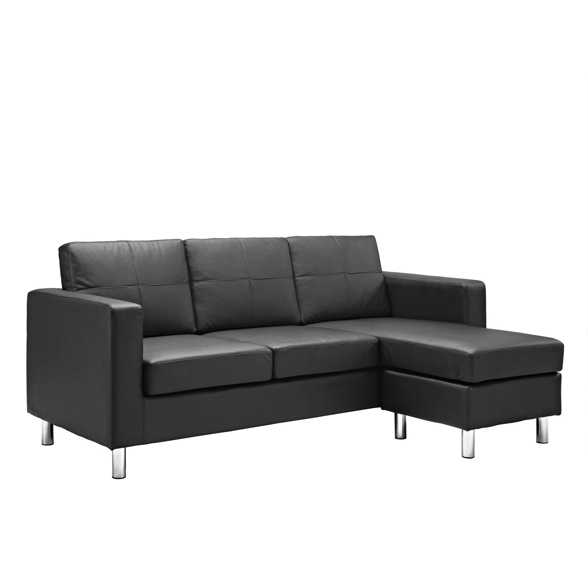 Dorel Living Small Spaces Configurable Sectional Sofa, Multiple Colors   Walmart