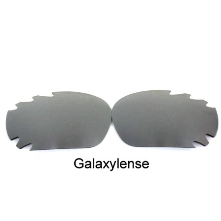 e34b755efca Galaxylense - Galaxy Replacement Lenses For-Oakley Racing Jacket Iridium  Titanium Polarized 100%UVAB - Walmart.com