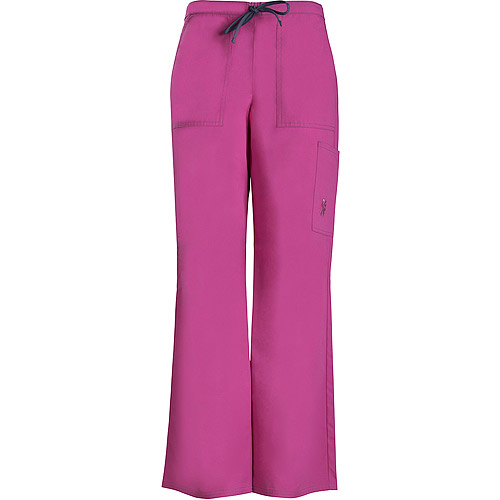 Pink Cargo Pant Embroidered