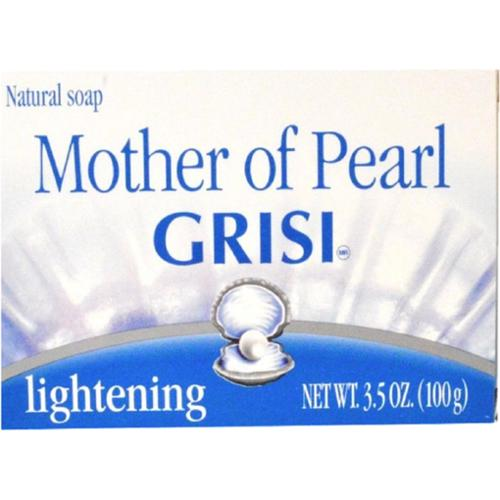 Grisi Mother of Pearl with Humederm Bar Soap, 3.5 oz