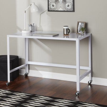 Cool Mainstays Metal Console Rolling Desk Multiple Colors Home Remodeling Inspirations Basidirectenergyitoicom