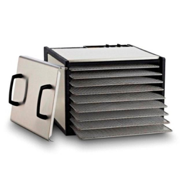 Excalibur 9-Tray Dehydrator with Timer, Stainless Steel