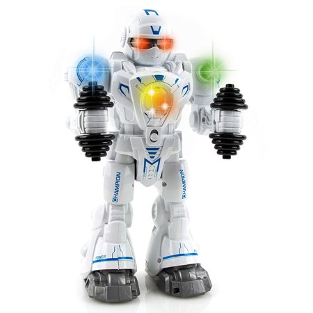 Toysery Walking Dancing Robot Toy Kids - Interactive Walking, Dancing Smart Robot Kit Boys & Girls (Battery Operated) (Build Your Own Robot Kit)