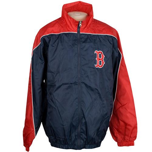 MLB - Men's Boston Red Sox Full Zip Lightweight Jacket ...