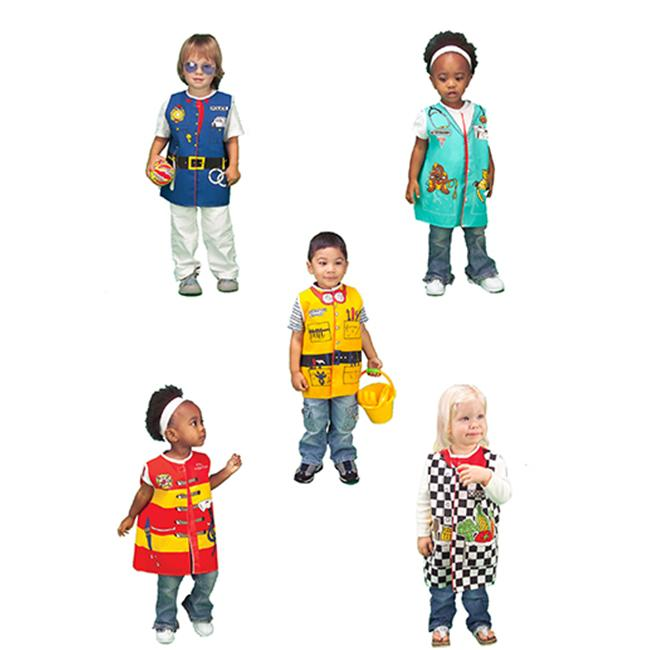 Dexter Educational Toys DEX309 Toddler Dress-Ups Careers Set Of 5