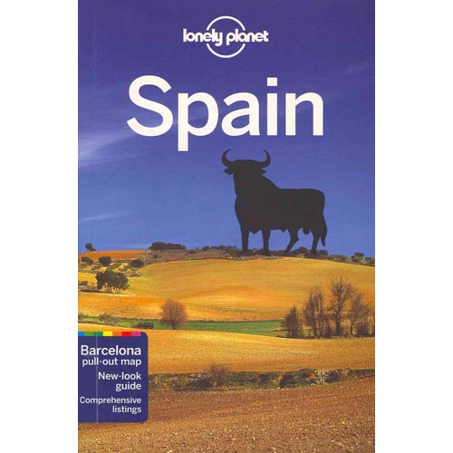 Lonely Planet Spain [With Map]