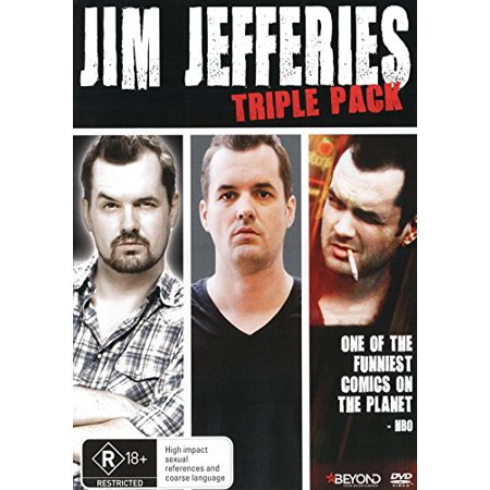 Jim Jefferies Tripple Pack 3-DVD Set ( Jim Jefferies: Alcoholocaust / Fully Functional / I Swear to God & Contraband ) [ NON-USA FORMAT, PAL, Reg.0 Import - Australia - Halloween Box Set Australia