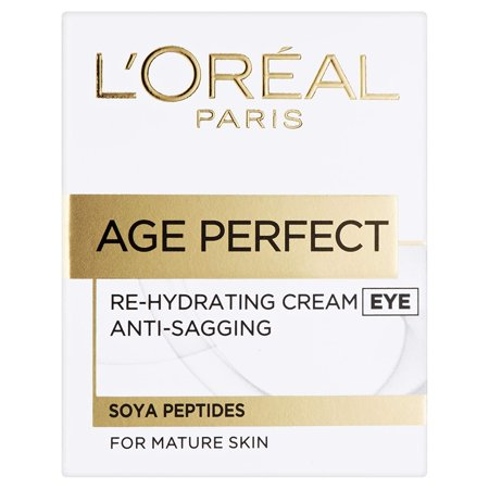 L'Oreal Age Perfect Re-Hydrating Cream, for Mature Skin, Eye, 15 ml (0.5 oz)