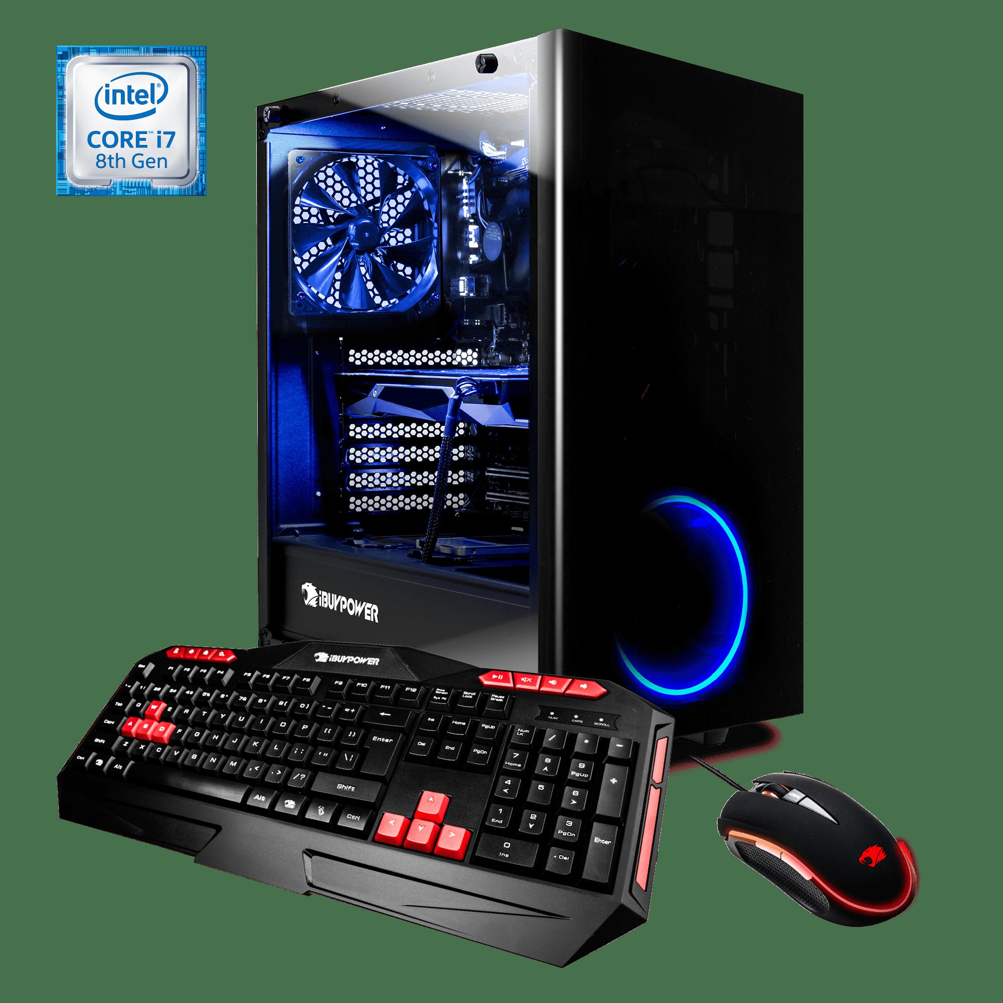 iBUYPOWER WA054i - Gaming Desktop PC - VR Ready - Intel i9 9900k - 16GB DDAR4 2666 Memory - NVIDIA GeForce RTX 2080 Ti 11GB - 240GB SSD - 1TB Hard Drive - Wi-Fi - RGB - Windows 10 Home 64-Bit