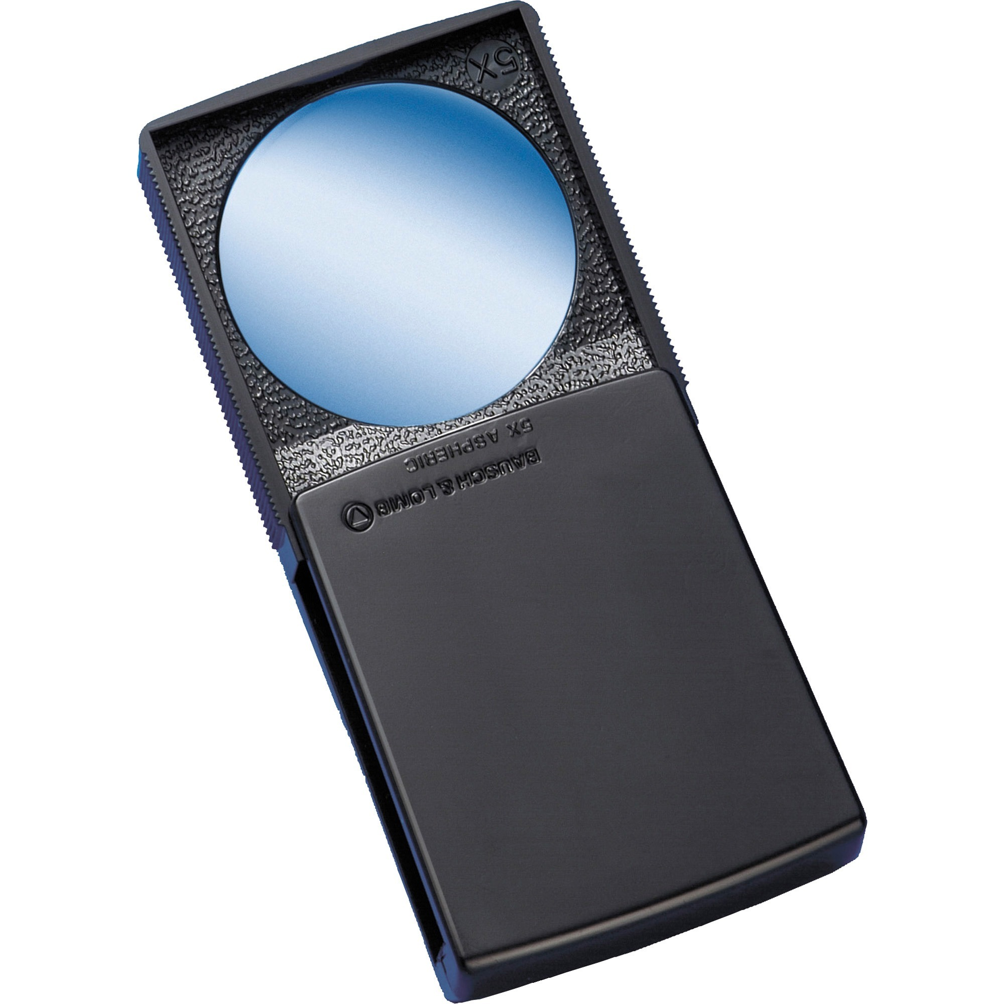 Bausch and Lomb Packette High-Power Magnifier, Black/Clear