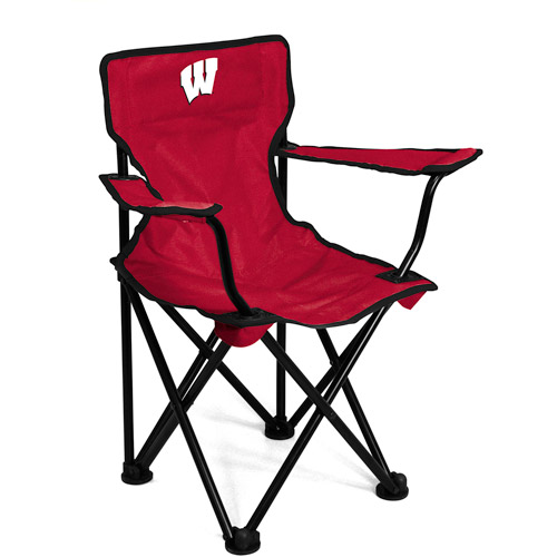 Logo Chair NCAA Wisconsin Toddler Chair