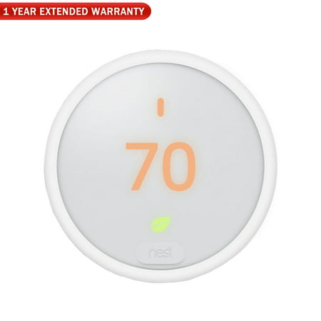 Nest T4000ES Learning Thermostat E + 1 Year Extended Warranty