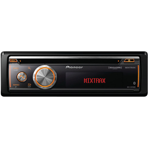 Pioneer DEH-X8700BS Single-DIN CD Receiver with Full Dot ...