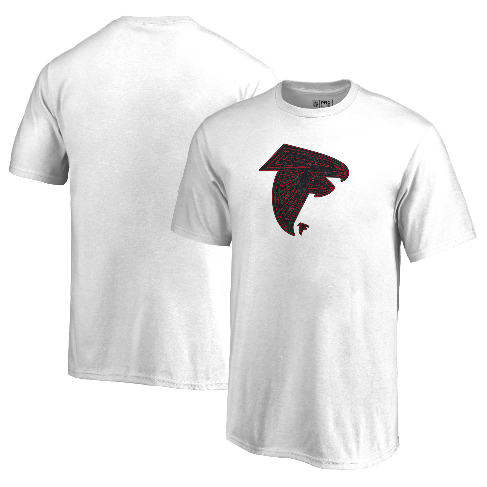 Atlanta Falcons NFL Pro Line by Fanatics Branded Youth Training Camp Hookup T-Shirt - White